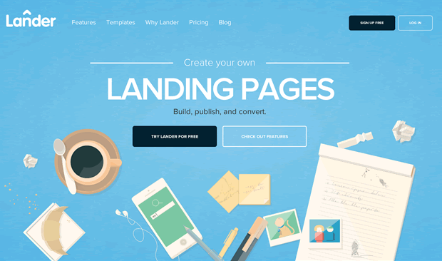 New Website Launch: Homepage focused on Conversion