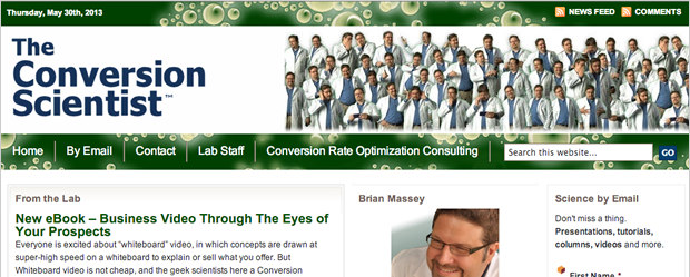 Conversion Scientist Blog