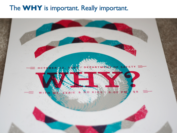User Testing will also help us to understand the Why