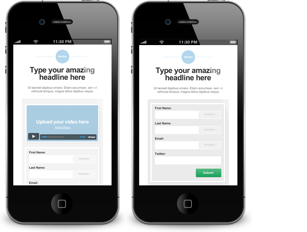 Mobile Landing Pages: Create them using Lander