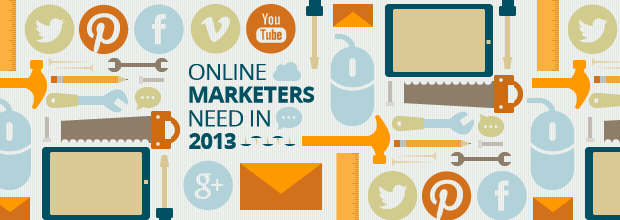 25 Tools Online Marketers Need in 2013