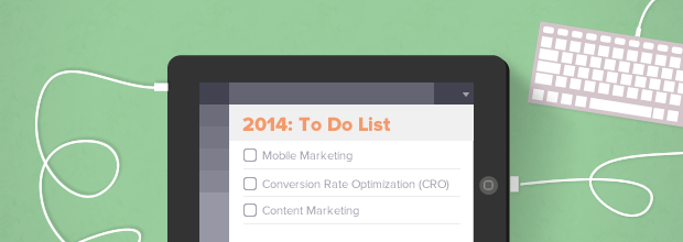 Marketing 2014: To Do List