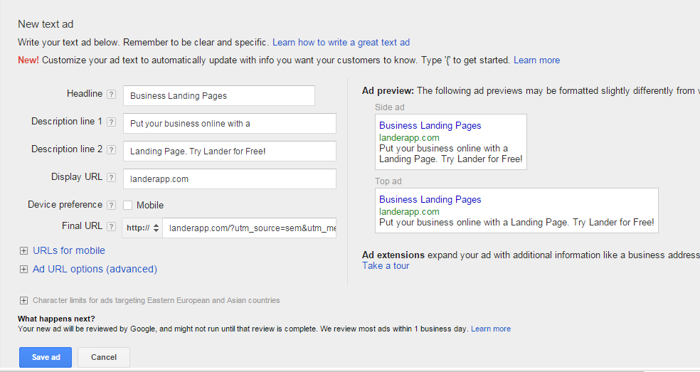 Step-by-step: How to run an AdWords campaign (Part 2)
