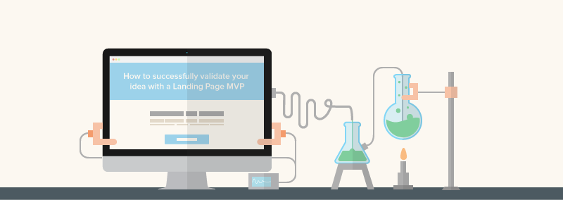 4 ways to validate ideas with a MVP landing page