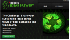Heineken share your thoughts user generated content