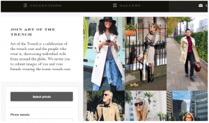 Burberry User Generated Content