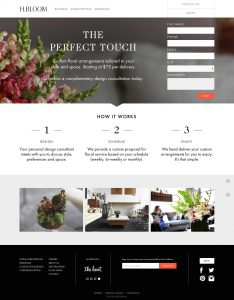 5 Great & Inspiring Sample Landing Pages - Part 2