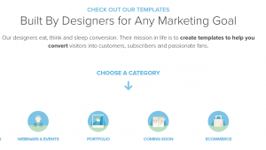 build attractive E-commerce sales landing pages using this template builder