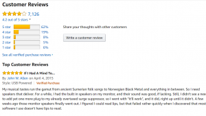 customer reviews in the style of amazon are great for your ecommerce sites