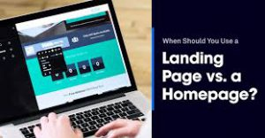 Landing Page Vs Homepage