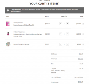 Ecommerce Checkout Page