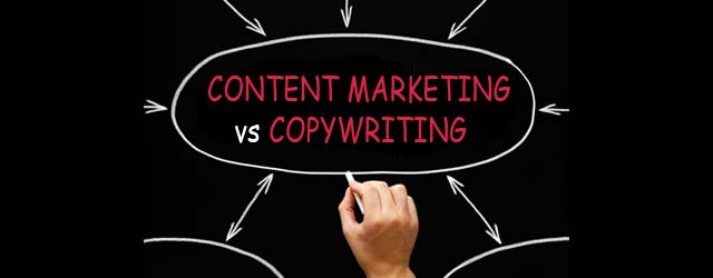 Content Writer vs Copywriter