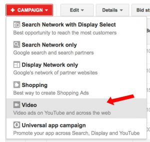 AdWords Video Campaign