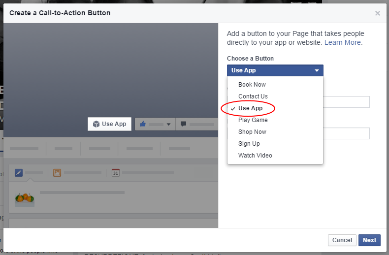 The Anatomy of A Facebook Call to Action Button - Lander Blog