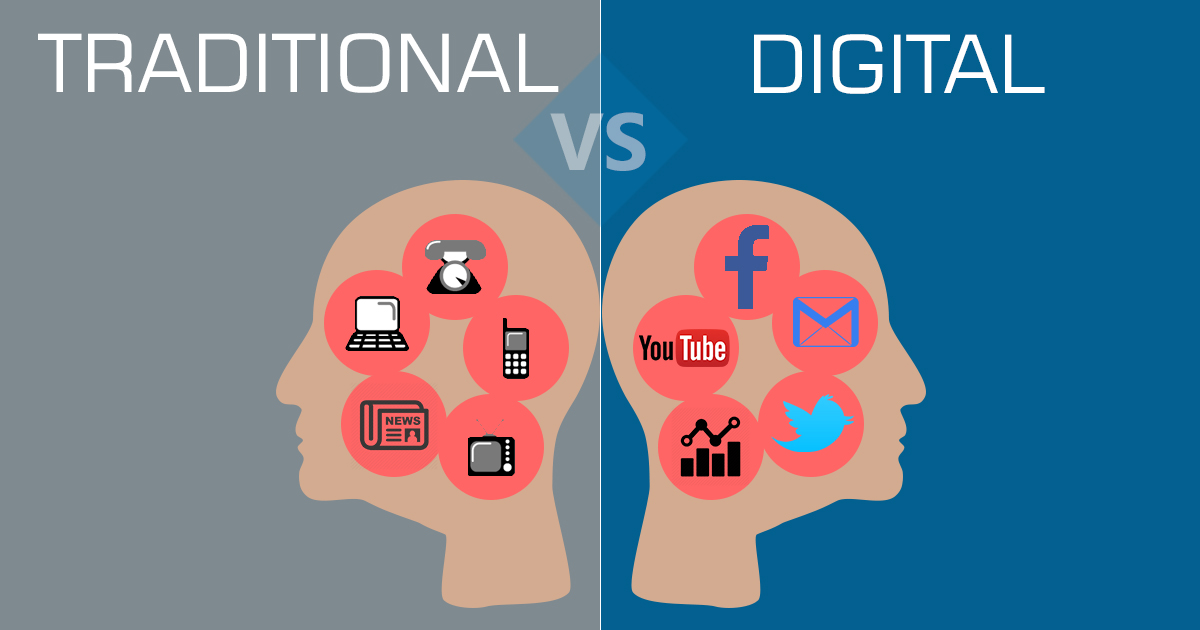 content vs traditional marketing the difference lander blog