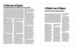 White Space Examples