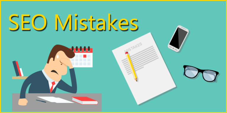 Image result for common-seo-mistakes