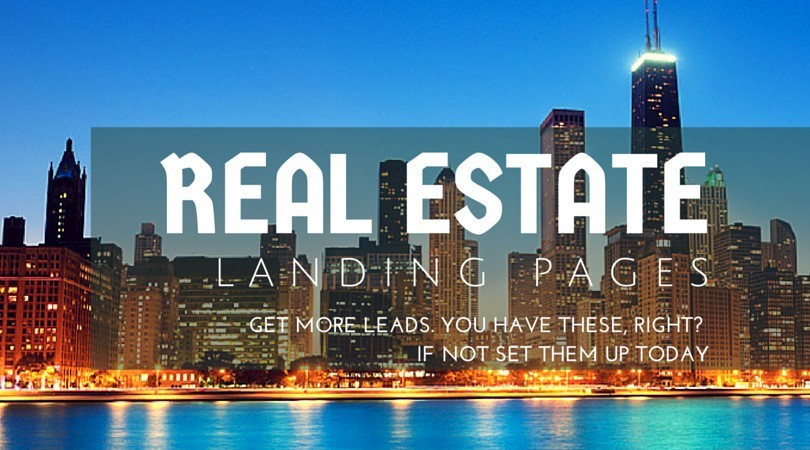 Real Estate Landing page