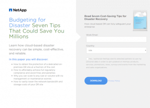 Squeeze Page Examples