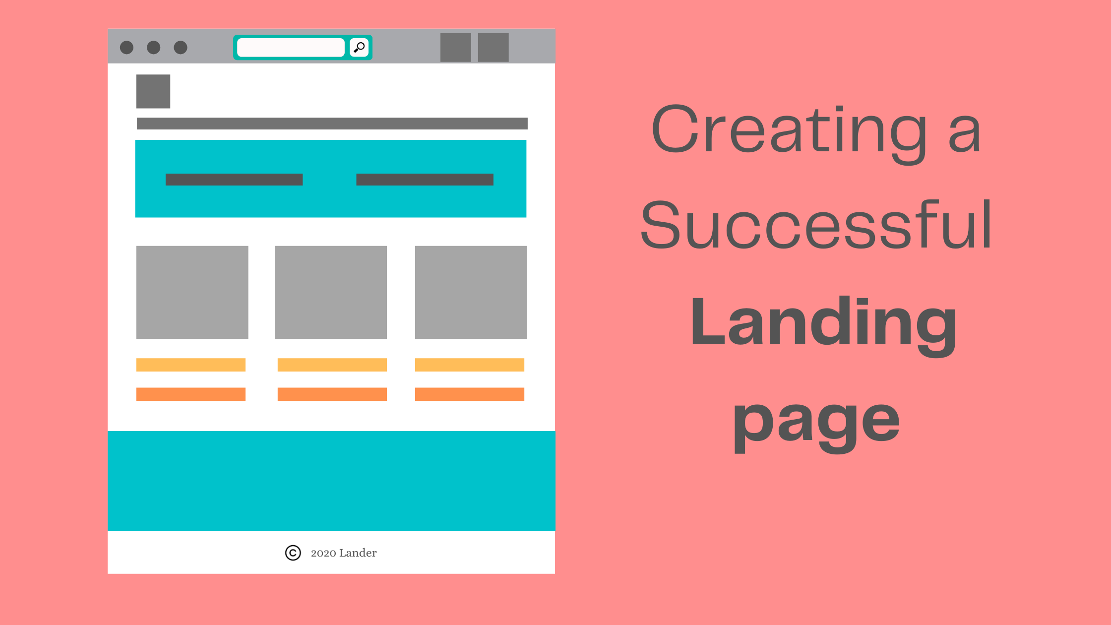 Creating successful landing pagea