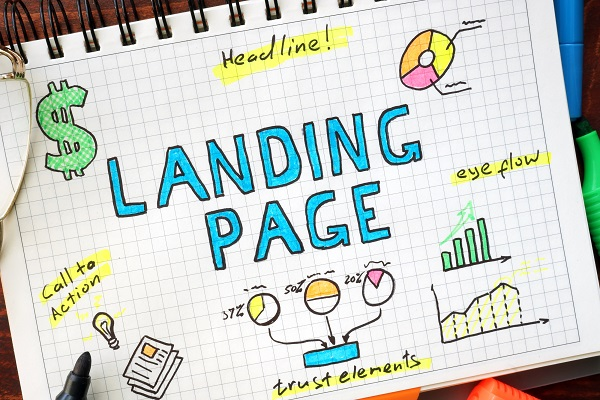 Important elements of a landing page