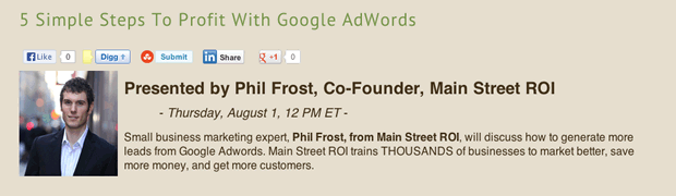 Simple Steps To Profit With Google AdWords, Log My Calls
