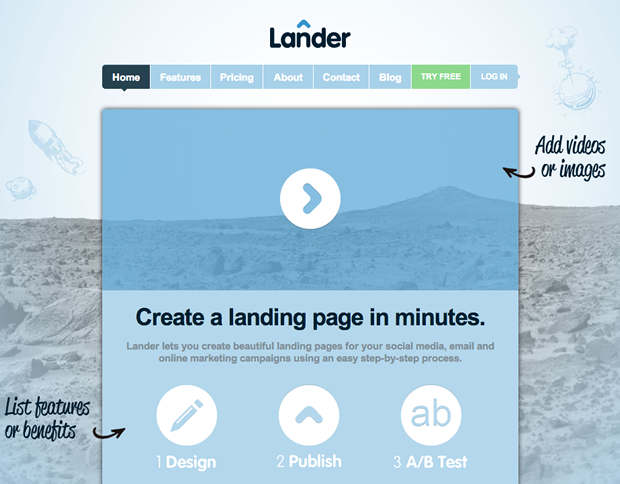 Tools Online Marketers Need : Landing Pages