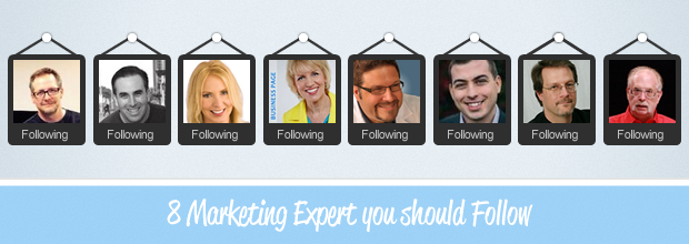 8 Digital Marketing Masters You Should Follow