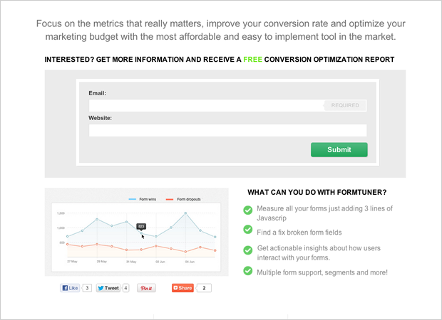 MVP landing Page: Value Proposition