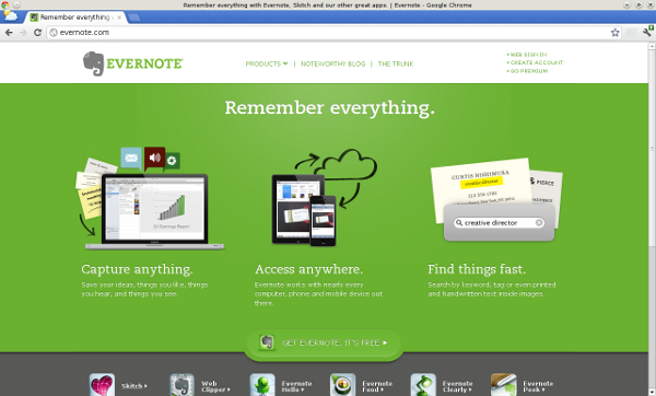 Value Proposition Evernote