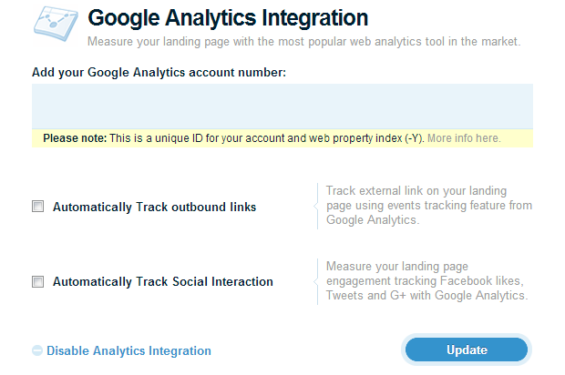 How to Integrate Google Analytics with Lander