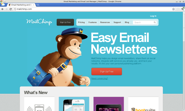 Value Proposition Mailchimp