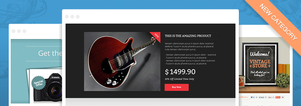 How to use landing pages to setup your online store