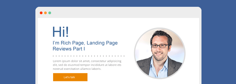 Landing Page Reviews by Rich Page