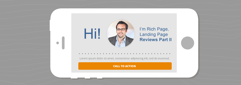 Landing Pages Reviews by Rich Page [Part II]