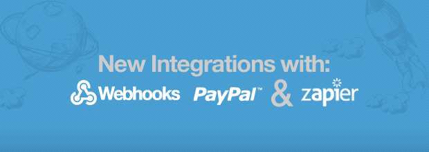 Lander is now integrated with Webhooks, Zapier and Paypal