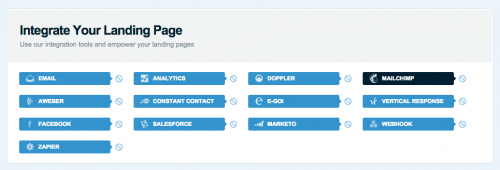 Lander and Mailchimp integration