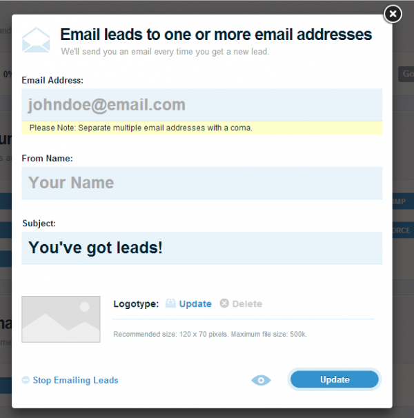 How to Customize New Lead Email Notifications