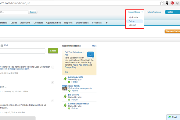 How to Integrate my Landing Page with Salesforce